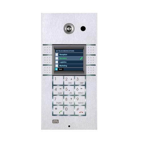 2N Helios IP Vario, 3x2 tlačítka + kamera + klávesnice + displej