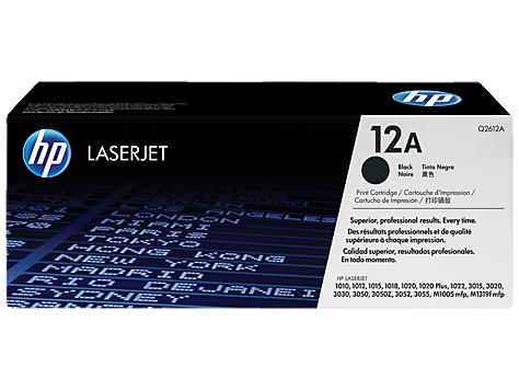 HP Toner Cartridge for HP LaserJet 10x0 (appx. 2000 pages)