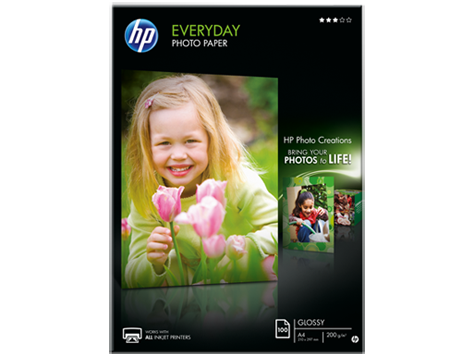 HP Everyday Photo paper 200g/m2,A4 100 sh. NEW