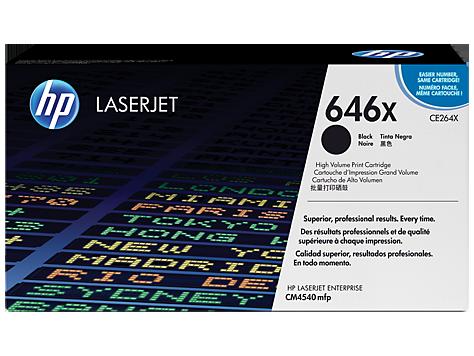 HP toner čierny pre LaserJet CM4540