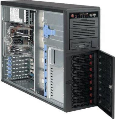 Supermicro® CSE-743T-R760B Tower/8 x 3.5