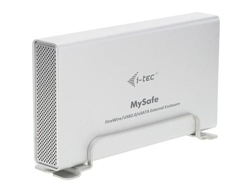 i-Tec MySafe USB 2.0 + FireWire 400/800 + eSATA pre 3,5