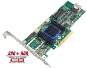 Adaptec AAR-6405, 4-portový 6Gb/s SASII/SATA 512MB RAID 0, 1,5,6 PCI Express bulk