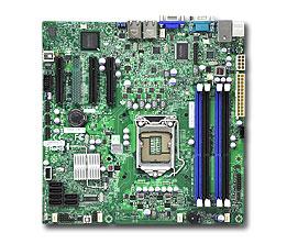Supermicro MB XeonE3-1200 X9SCL-F C202 2xGLAN RAID