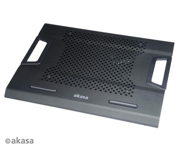 AKASA AK-NBC-31BK Helix chladič pre notebook do 17