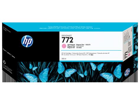HP 772 300-ml Light-Magenta Ink Cartridge
