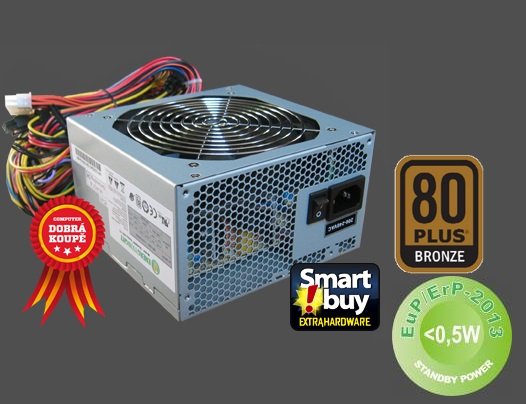 Zdroj 500W, SEASONIC OEM Energy Knight SS-500ET T3 80PLUS Bronze bulk