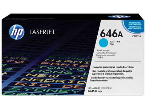 HP Color LaserJet CF031A Cyan Print Cartridge