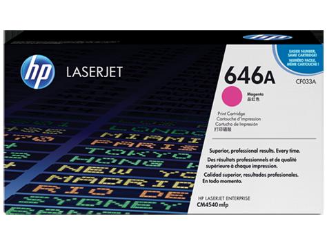 HP Color LaserJet CF033A Magenta Print Cartridge