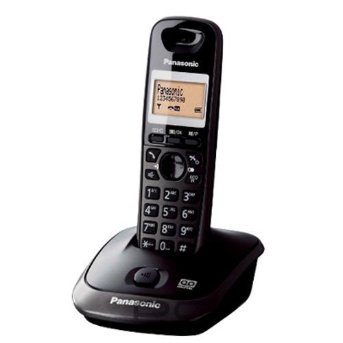 Panasonic KX-TG2521FXT telefon bezsnurovy DECT / titanovo cierny 1x