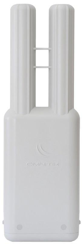 MIKROTIK RouterBOARD OmniTik 5, U-5HnD +L4 (400MHz, 32MB RAM, 5x10/100, 7.5dBi anténa, USB) outdoor