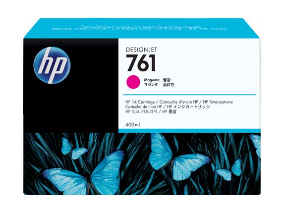 HP náplň č. 761, purpurová, 400 ml