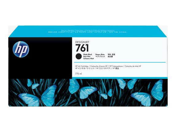 HP náplň č. 761, matná čierna, 775 ml