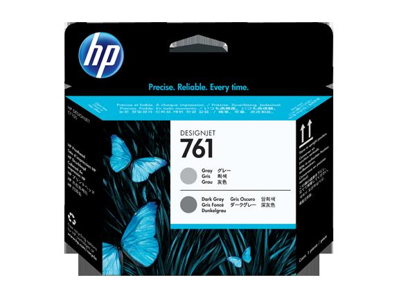 HP tlačová hlava č. 761, sivá / tmavosivá