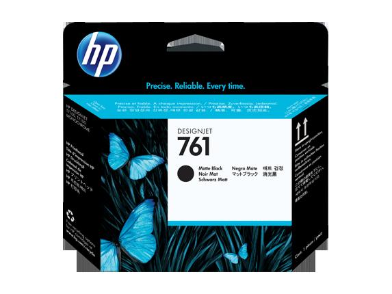 HP tlačová hlava č. 761, matná čierna