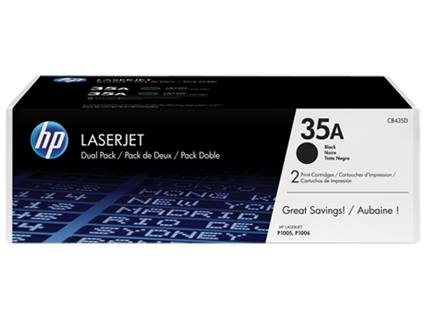 HP čierny toner LaserJet P1005/P1006 1500 strán / Dual pack