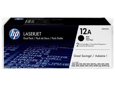 HP toner LaserJet 1010/1012/1015, čierny / Dual pack