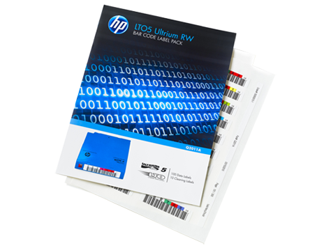 HP LTO5 Ultrium WORM Automation Bar Code Labels (110 pack)