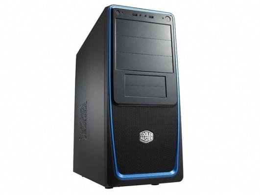 CoolerMaster case Elite 311,ATX,čierno-modrá, bez zdroja