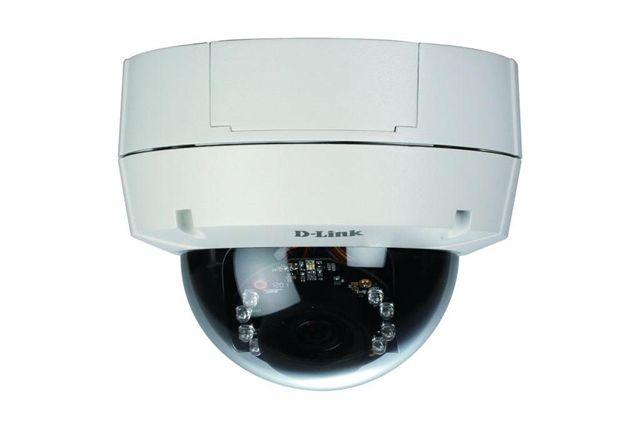 D-Link DCS-6511 sietova IP kamera stropna, WDR, 3G, IR, PoE, H.264