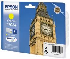Epson atrament WP4000/4500 series yellow L