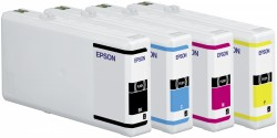 Epson atrament WP4000/4500 series cyan XXL