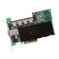 LSI SAS 9280, 16int 4ext PCI-E 6Gb/s, SATA/SAS 512MB RAID0,1,10,5 20-ch, bulk