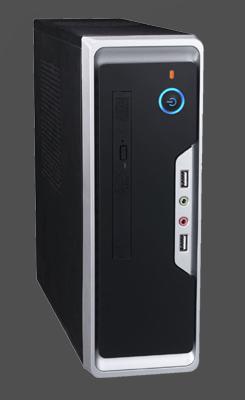 Eurocase skrinka Mini ITX WI-01, desktop/tower, 2xUSB, audio
