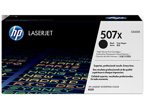 HP Čierny Toner pre HP LaserJet M551 - 507X /11.000 str/