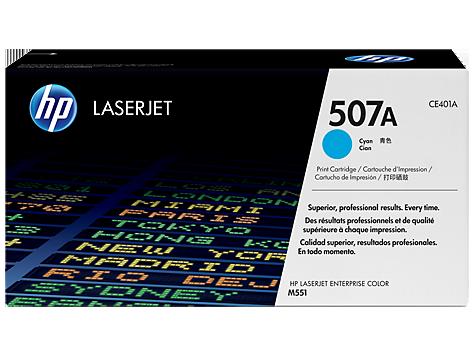 HP Cyan Toner pre HP LaserJet M551 - 507A /6.000 str/