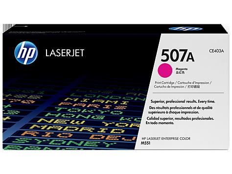 HP Magenta Toner pre HP LaserJet M551 - 507A /6.000 str/