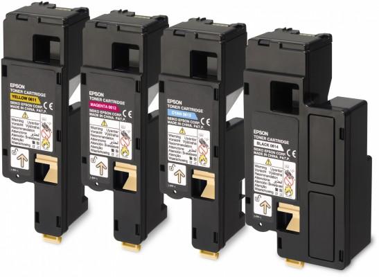 Epson toner Aculaser C1700/C1750/CX17 black HC