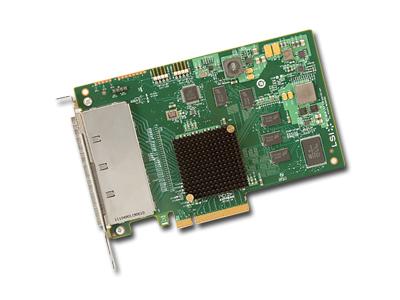 LSI SAS 9201-16E , PCI-E 6Gb/s, SATA/SAS HBA 16-ch, bulk