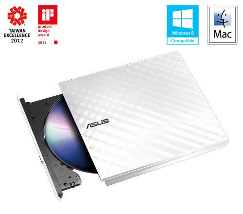 ASUS DVD-RW External Slim SDRW-08D2S-U, Retail, biela