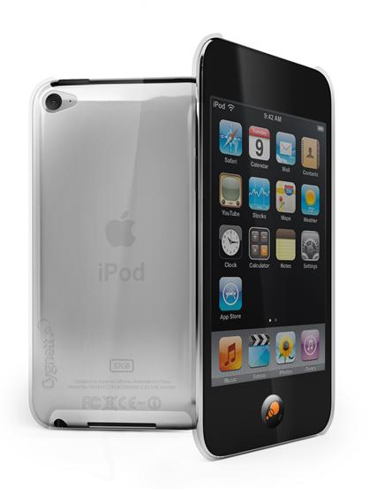 Cygnett, obal CRYSTAL pre iPod Touch G5, priesvitny