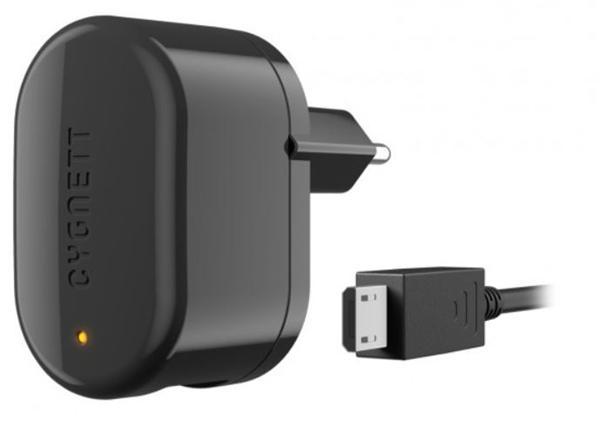 Cygnett, Groove Power Smart, 5V/1A nabíjačka do steny s odpojiteľným USB/micro USB káblom pre smartfóny, čierna