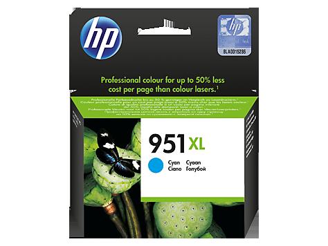 HP náplň č. 951XL azúrová (1.500str)