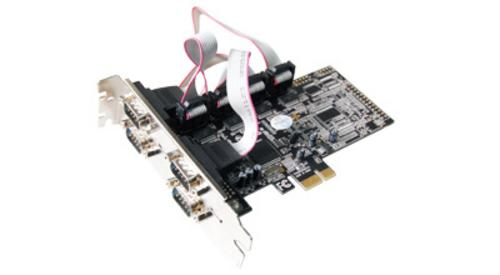 ST-LAB I-343 PCI-Express 4S interna karta (4xCOM)