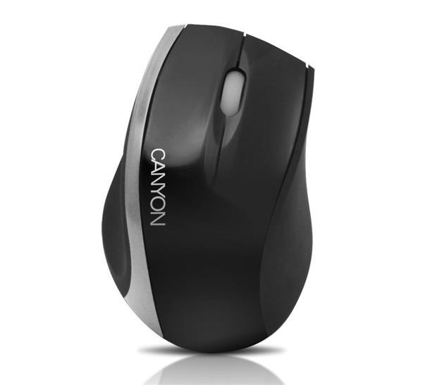 Canyon CNR-MSO01NS, optická myš, USB, čierno-strieborná, 800 dpi