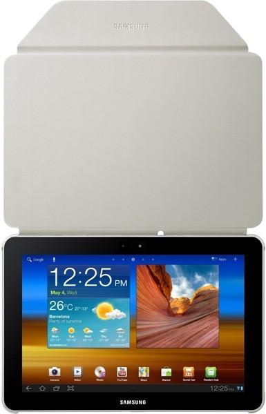 Samsung púzdro Book Cover, pre Galaxy TAB 8.9 (P7300/P7310), sivé