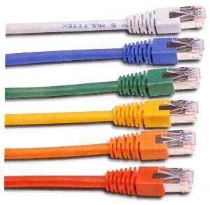 OEM patch kábel Cat5E, FTP - 5m , černý
