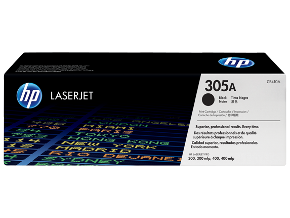 HP toner čierny HP305A /vyťaženosť cca 2200str/
