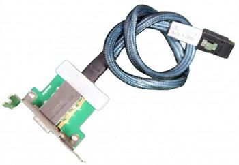 Supermicro CBL-0167L-LP 1-Port Internal mini SAS to External SAS with LP Bracket