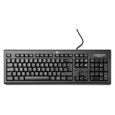 HP Classic Wired Keyboard - SK