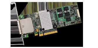 LSI SAS 9280, 8ext PCI-E 6Gb/s, SATA/SAS 512MB RAID0,1,10,5 ,60 8-ch, bulk