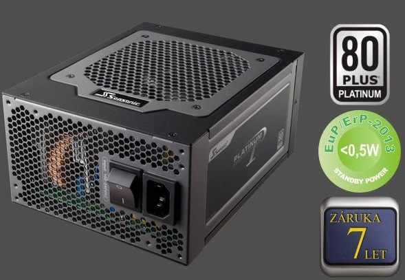 Zdroj 860W, Seasonic Platinum-860 (SS-860XP F3) 80PLUS Platinum, Retail