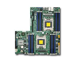 Supermicro Motherboard Xeon X9DRW-3F Dual socket R (LGA 2011) Intel® i350 Dual port GbE LAN