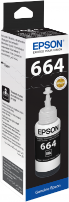 Epson atrament L100/L200/L300/L400/L500/L1300 Black ink container 70ml