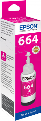Epson atrament L100/L200/L300/L400/L500/L600/L1300/L1455 Magenta ink container 70ml
