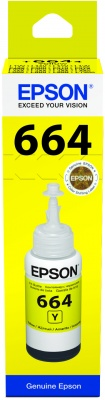 Epson atrament L100/L200/L300/L400/L500/L600/L1300/L1455 Yellow ink container 70ml
